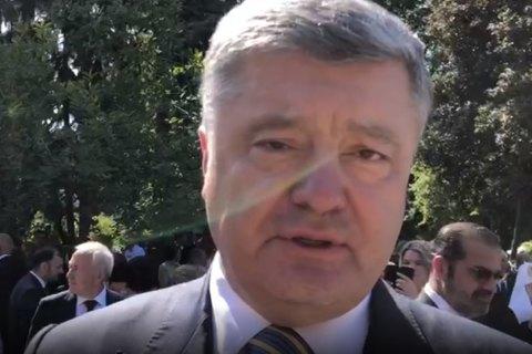 Порошенко об освобождении украинцев: простых и линейных решений здесь не бывает
