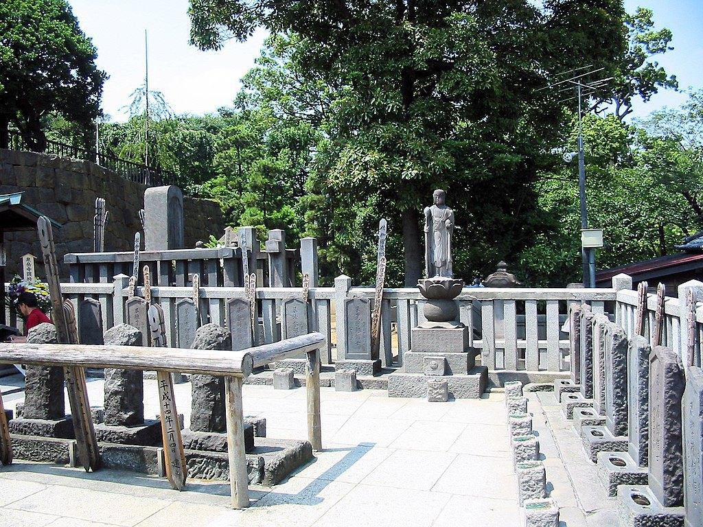 Могили ронінів у храмі Сенгакудзі