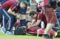 Захисник Росії зламав хребет у матчі проти Австрії