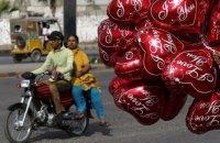 Жителям Пакистану нагадали про заборону Дня святого Валентина