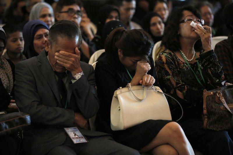 Родичі загиблих у авіакатастрофі MH17