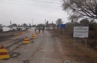 """На КПВВ """"Майорськ"""" 46 осіб провели ніч у наметах ДСНС"""