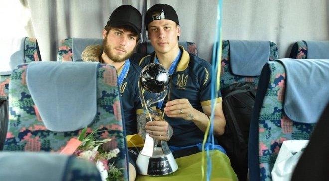 Денис Попов (праворуч) і Георгій Цітаішвілі