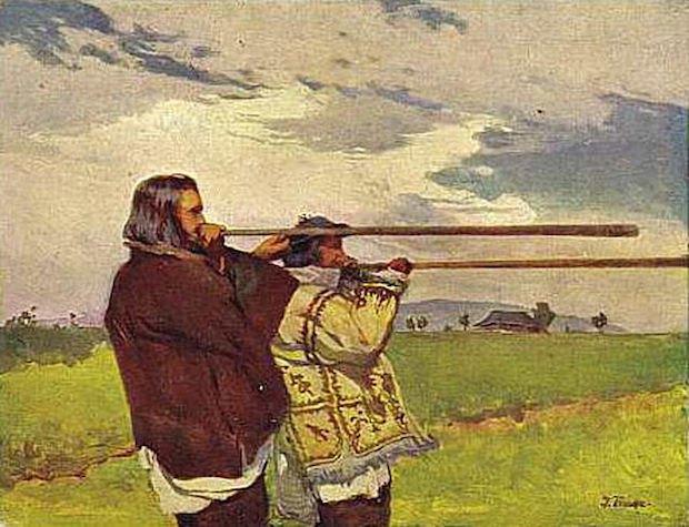 «Трембітарі», 1905