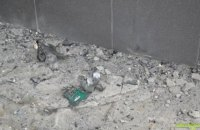 В центре Кировограда взорвалась урна с мусором
