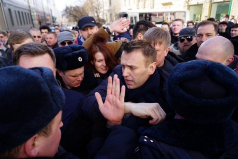 Полиция в Москве задержала Алексея Навального (обновлено)