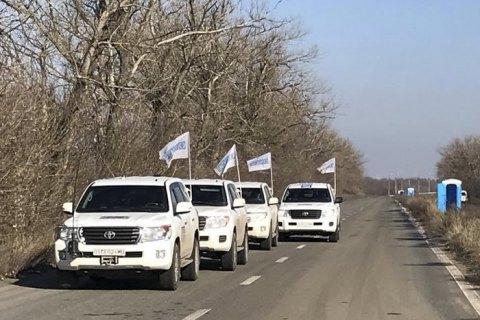 Місія ОБСЄ відзначає скорочення обстрілів з боку бойовиків