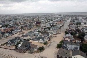 """В США подсчитали ущерб от урагана """"Сэнди"""""""