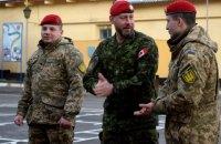 Британские инструкторы приступили к подготовке украинских военных правоохранителей