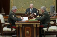 Лукашенко распорядился усилить охрану границы с Украиной