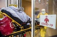 За добу в Україні зафіксовано 68 нових випадків COVID-19
