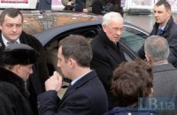 Охрана Азарова подралась с народным депутатом