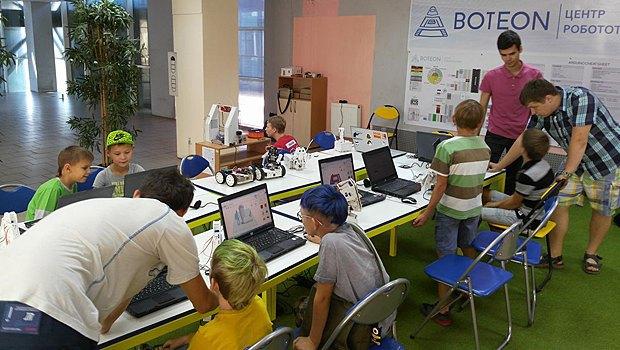 Центр робототехники Boteon в Днепре