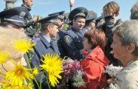 Возложение цветов во Львове состоялось без эксцессов