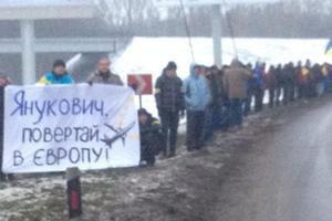 Янукович добирался в аэропорт на вертолете