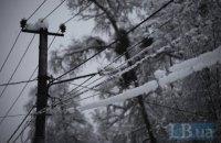 Шесть процентов Харьковской области обесточены из-за непогоды