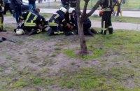 У результаті пожежі у київській багатоповерхівці постраждали діти