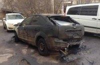 В Виннице неизвестные сожгли автомобиль депутата горсовета