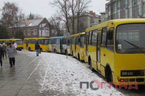 Тернопольский горсовет решил отказаться от маршруток