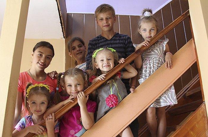Діти, які виховуються в дитячому будинку сімейного типу сім'ї Раранчуків
