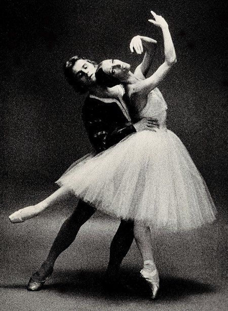 Наталья Макарова и Михаил Барышников