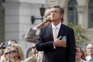 Ющенко на день рождения подарили вино и привезли пирожки из Хоружевки