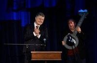 Порошенко принял участие в церемонии открытия Театра на Подоле (обновлено)