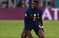 У матчі Євро-2020 Франція - Німеччина Рюдігер вкусив Погба