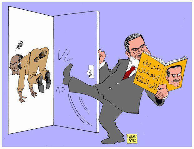 Морси отправляет в отставку Тантави, читая книжку Эрдогана