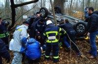 Под Чернобылем при столкновении авто с диким животным пострадали 4 человека