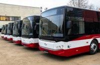 Ивано-Франковск получил турецкие автобусы