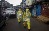 ВООЗ: кількість випадків зараження Еболою сягнула 11-місячного мінімуму