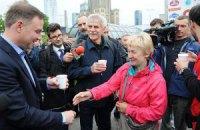 Анджей Дуда пообіцяв стати безпартійним у разі обрання президентом Польщі