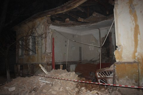У Кропивницькому обвалився житловий будинок, постраждалих немає