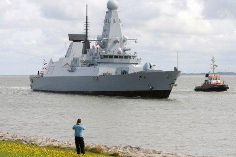 В Персидском заливе сломался один из самых современных боевых кораблей Британии
