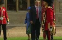 Трамп нарушил неписаное правило британского этикета