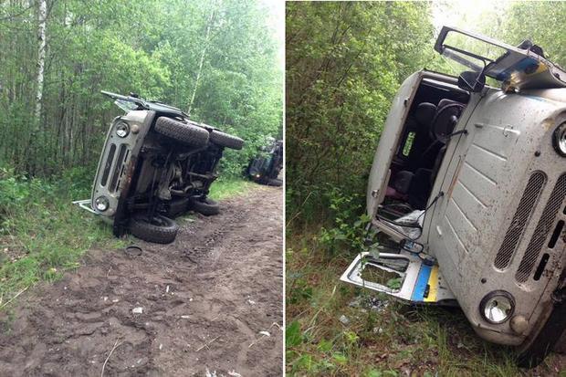 На Рівненщині сталася сутичка зкопачами бурштину: 3 поліцейських поранено