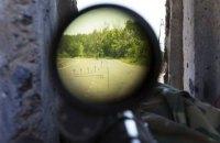 Снайпер боевиков сдался Вооруженным силам Украины