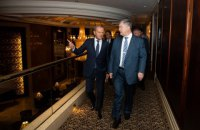 Порошенко після зустрічі з Туском: галузеві союзи - основа подальшого прогресу України