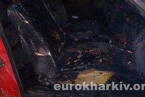 В Харькове сожгли еще одно авто, обеспечивающее Евромайдан
