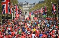 Во время забега Лондонского марафона скончался один спортсмен