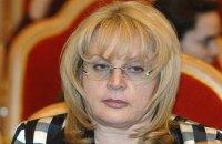 Глава ЦВК РФ зробила зауваження Пєскову за агітацію на користь Путіна