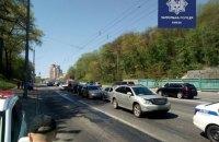 В Киеве произошла авария при участии 7 автомобилей