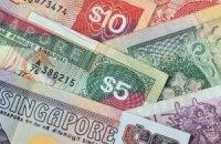 В валютные резервы хотят включить сингапурские доллары