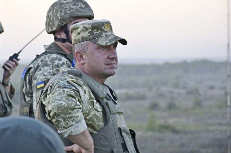 Командувач підготовки Командування Сухопутних військ ЗСУ Олександр Павлюк