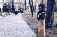 Київський Їжачок у тумані переїхав у парк Шевченка