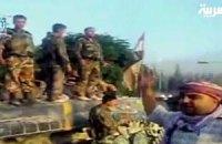 10 тыс. человек сбежали из правительственной армии с начала волнений в Сирии