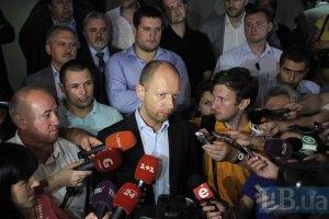 Яценюк прогнозирует срыв подписания СА
