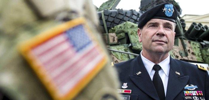 Генерал-лейтенант армии США Бен Ходжес