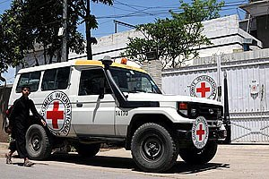 Боевики похитили представителей Красного креста